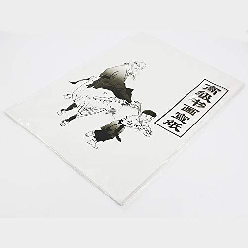 30 Blatt weißes Malpapier, traditionelles Reispapier, chinesische Malerei und Kalligraphie, 35,5 x 25,5 cm -