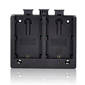 MUST HD LP-E6 battery plate