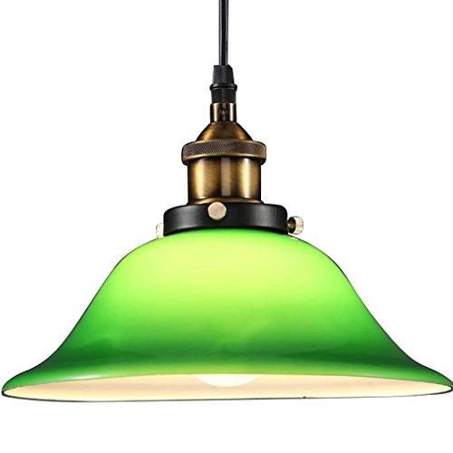 Linear-glas-anhänger (OOFAY Nordeuropa Industrial Wind Restaurant Kronleuchter Smaragd Grünes Glas Vintage Home Wohnzimmer Schlafzimmer Beleuchtung)