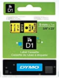 Dymo Etikettenband Dymo D1 9mm/7m schwarz/gelb
