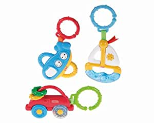 Fisher Price On the Go Gift Set, Multi Color