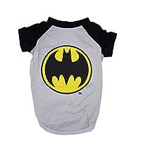 DC Comics Batman Tee For Dogs| Batman Logo T-Shirt Dogs, Medium