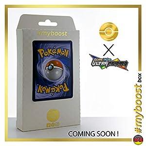 Pokémon Fan Club (Club de Fan Pokémon) 155/156 Entrenadore Full Art - #myboost X Sonne & Mond 5 Ultra-Prisma - Box de 10 Cartas Pokémon Aleman
