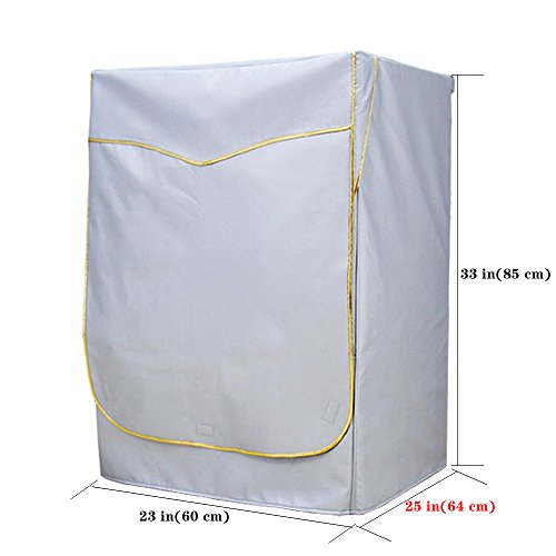 [mr.you]lavatrice copertura impermeabile protezione solare antipolvere per esterni giardino balcone nei 5 anni di vita utile(xl)