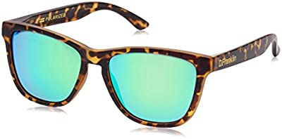 D.Franklin ROOSEVELT CAREY/GREEN - gafas de sol, unisex, color verde, talla UNI