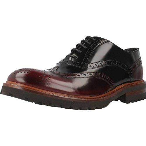 Zapatos Hombre, Color Rojo Burdeos, Marca SERGIO SERRANO