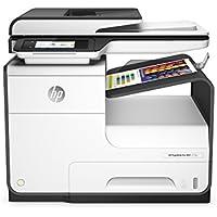 HP PageWide Pro 477dw (D3Q20B) Multifunktionsdrucker (A4, Drucker, Scanner, Kopierer, Duplex, Fax, WLAN, LAN, Airprint, Cloud Print, USB, 2400 x 1200 dpi) weiß