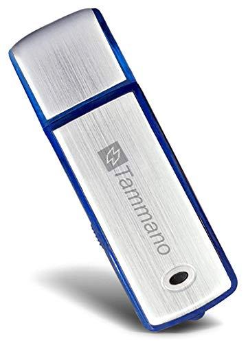 megerät zum Spionieren von Gesprächen - Mini USB Sound Voice Recorder - mit 8 GB Flash-Drive - Eignet sich am besten für Meetings, Präsentationen, Notizen machen - Mac/Win - Pro Speicherstick - Kein Blinklicht - 96 Std. Tonaufzeichnungen - Ein AN/AUS-Schalter ()
