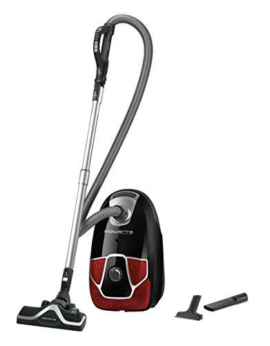 Rowenta X-Trem Power Classic+ RO6823EA Bodenstaubsauger mit Beutel (550 Watt, 4,5 Liter) schwarz/rot