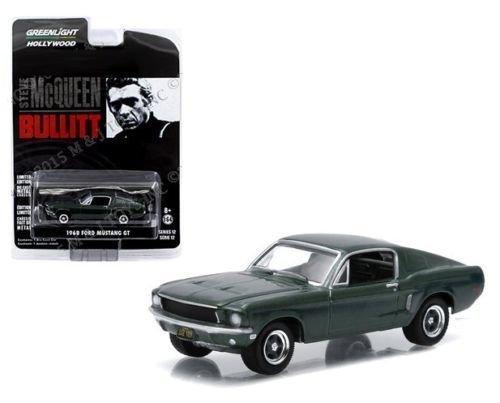 greenlight-164-steve-mcqueen-bullitt-1968-ford-mustang-gt-44721-by-greenlight