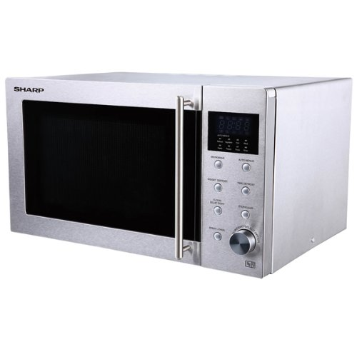 Sharp R28STM Stainless Steel, 800w, 23L Freestanding Combination Microwave Oven lowest price