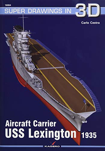 Aircraft Carrier USS Lexington 1935 (SuperDrawings in 3D) por Carlo Cestra