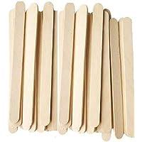 STICKWALA Wooden Ice Cream Color Stick 100 Pcs