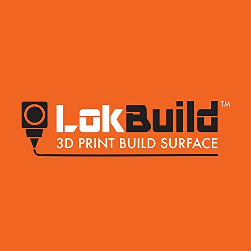 lokbuild 3D Print Bj Oberfläche, Sticky Back Tabelle, schnelles, sauberes Entfernen von Bedruckte Teile, vielseitig, TWIN PACK 6