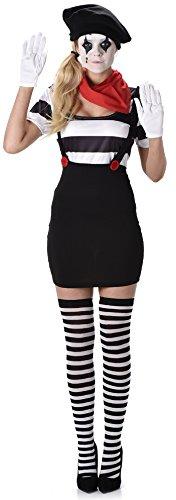Karnival Costumes  - Pantomimen Kostüm für Damen Taille M (Circus Kostüm)