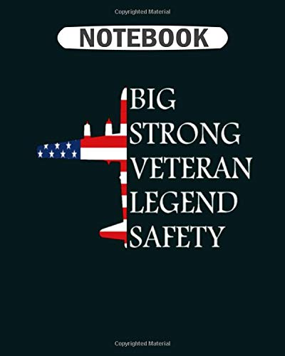 Notebook: veteran bomber b 29 tee man woman kids gift idea  College Ruled - 50 sheets, 100 pages - 8 x 10 inches -
