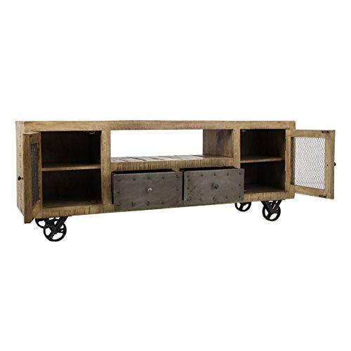 Mueble de tv madera de mango 170X40X65 cm