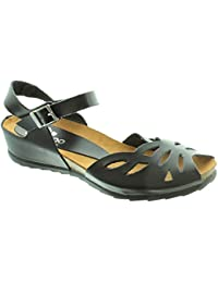 9f005f3f1f1 Yokono - Ladies Capri 023 Flat Sandals In Black
