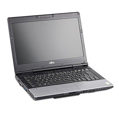 Fujitsu Full HDNotebook Intel core_i5 320 HDD 4 LAN, WLAN, DisplayPort, USB, eSATA, VGA, ExpressCard Win 10 Home, Negro (Reacondicionado Certificado)