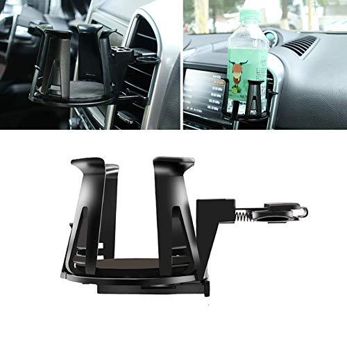 Dandeliondeme Autohalterung, Universal Car Air Vent Outlet Halterung Flasche Getränk Becherhalter Ständer Zubehör Schwarz -