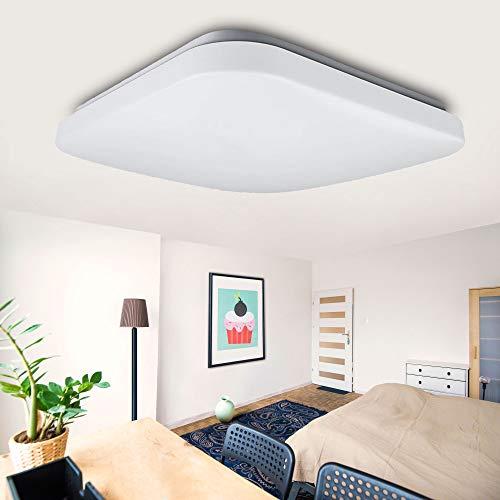 """LED Deckenleuchte""""GALA-S"""" 32W eckig Deckenlampe 4000K Neutralweiß Lampen Modern und schlicht"""