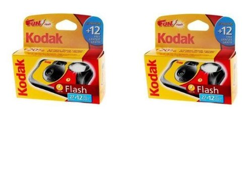 Kodak Fun Flash Lot de 2 appareils photo jetables 39 poses