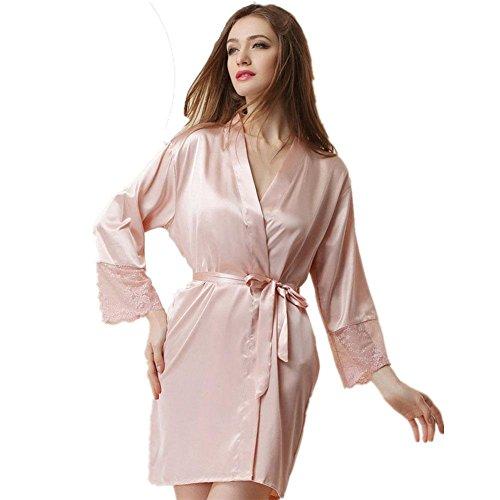 pigiami di seta Ms. sexy camicia da