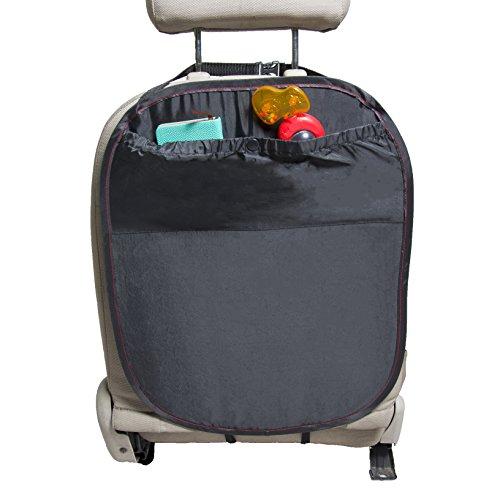 Preisvergleich Produktbild Rückenlehnenschutz Hochwertig Schwarz mit großen Taschen