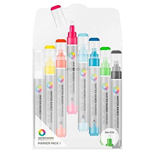 mtn-couleurs-base-deau-marqueur-peinture-3-mm-pointe-fine-lot-de-8