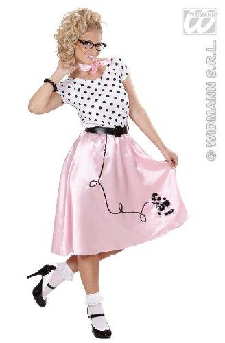 KOSTÜM - PUDEL GIRL - Größe 38/40 (Pudel 50er Kleid Kostüme Jahre)