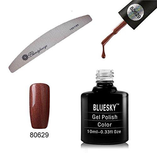 BlueSky 80629collezione Craft culture, smalto per unghie, color cuoio (Leather Satchel), 10ml