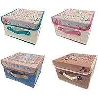 Costura para tejer o Craft caja de almacenaje 28 cm x 28 cm x 17 cm