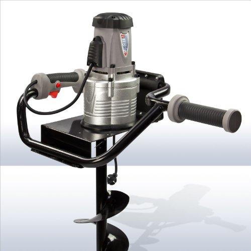 DEMA Elektro Erdbohrer 1200 Watt + 150 mm Bohrer - 3