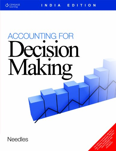 Accounting For Deoision Making