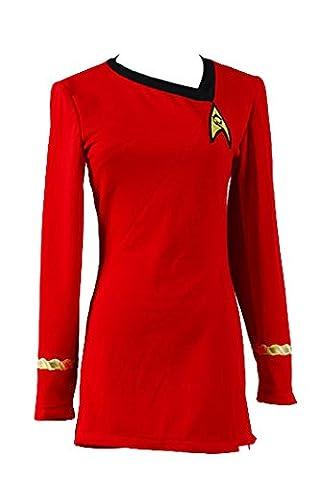 Star Trek The Female Duty Uniform Red Dress Costume XXL