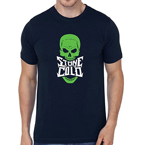 Cotton Men'S Half Sleeve Casual Printed Stone Cold T-Shirts | Sarcasm T-Shirts | Graphic Tshirts XXL Size By Status Mantra
