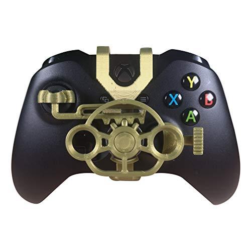 Xbox One S/X Mini-Lenkrad, Xbox One Controller, Ersatzzubehör für alle Xbox Rennspiele Bronze metallic