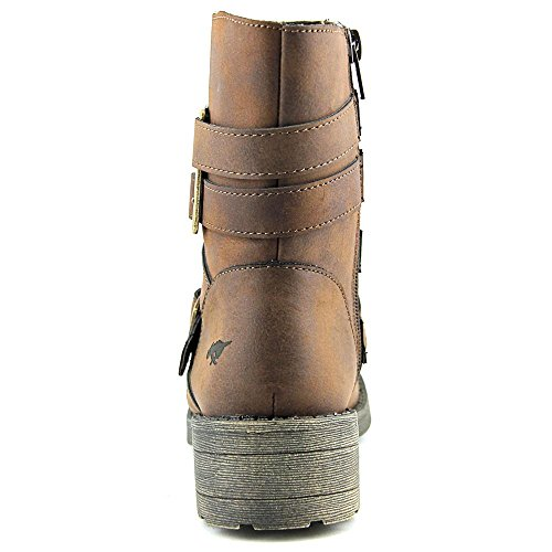 Rocket Dog Throttle Graham Synthétique Botte de Moto brown
