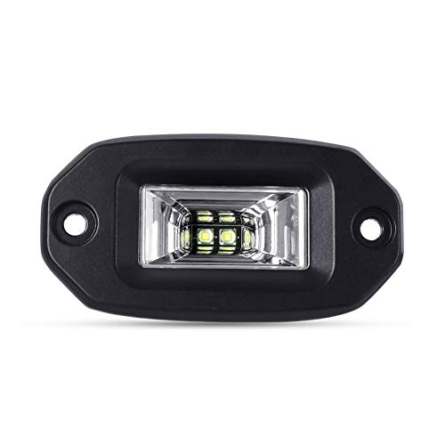 WPFC 20W Incasso LED Pods Lavoro Dell'inondazione Light Bar, 6500K Impermeabile Barra LED di Lavoro per Offroad Backup Motore Pickup Auto