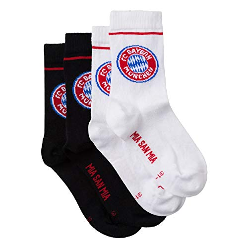 FC Bayern München Sport-Socken Kids 2er Set Gr. 27-30