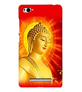 printtech Lord Buddha Back Case Cover for Xiaomi Redmi Mi4i::Xiaomi Mi 4i