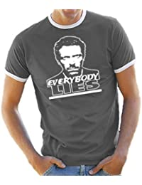 Touchlines T-Shirt Dr House - Everybody Lies - Camiseta