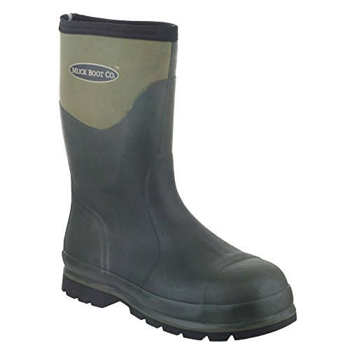 muck-boot-wellington-waterproof-safety-shoes-boots-green-7