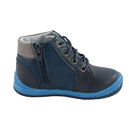 Jungen Schuhe Geschnürt Stiefel für Jungen mit komfortables Fußbett (1017) Marineblau