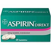 Aspirin Direkt Kautabletten, 20 St. preisvergleich bei billige-tabletten.eu