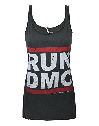 Braun Cami Tank Top (Damen - Amplified Clothing - Run DMC - Tank Top (S))