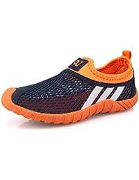 Unisex-niños Malla transpirable/Zapatos del ocio/Peso ligero transpirables zapatillas
