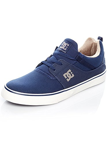 DC Shoes Heathrow Vulc TX, Sneaker Uomo Blau (Navy Nvy)