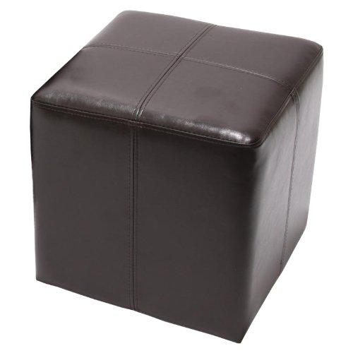 pouf-de-tabouret-onex-cuir-36x36x36cm-marron