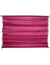 Ca 60 Modelle Sarong Pareo Wickelrock Strandtuch Tuch Wickeltuch Handtuch Bunte Sommer Muster Set + Gratis Schnalle Schließe